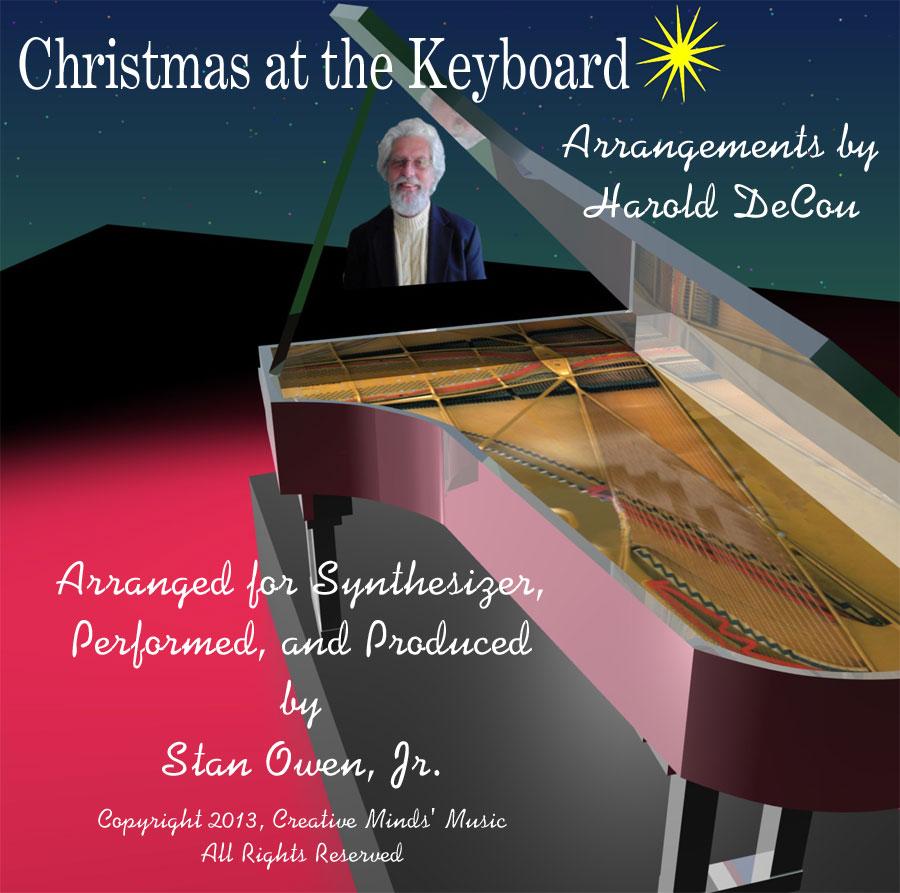 Christmas At The Keyboard CD Cover Art